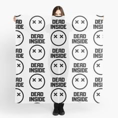 Dead Inside x _ x - Get yourself a funny custom desing from RIVEofficial Redbubble shop : )) .... tags: #dead  #inside #deadinside #depression  #funny #2020 #depressed  #party #humour #giftideas #socialevent  #design #humorous #cool #badass #shirtsonline #trends #riveofficial #favouriteshirts #art #style #design #nature #shopping #insidecollection #redbubble #digitalart #design #fashion #phonecases #access #customproducts #onlineshopping #accessories #shoponline #onlinestore #shoppingonline Dead Inside, Social Events, Depressed, Badass, Custom Design, Trends, Tags, Funny, Party