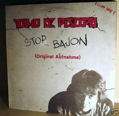 TULLIO DE PISCOPO -  Stop Bajon *ZYX 84**Italo* 12 MAXI
