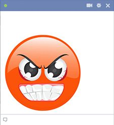 This smiley is ready to explode with anger. Symbols Emoticons, Funny Emoticons, Praying Emoji, Funny Emoji Faces, Emoji Love, Facebook Smileys, Funny Things, Sweet, Happy