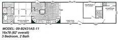 Single Wide Floorplans - McCants Mobile homes Single Wide, Trailer Remodel, Mobile Homes, Mobile House, Tumbleweed Homes, Motorhome