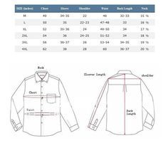 Shop abroad with these clothing size conversion charts scrap