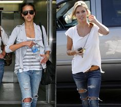 Page Removed - Zimbio Ripped Knee Jeans, Ripped Knees, Crushes, Denim, Clothing, Jackets, Style, Fashion, Outfits