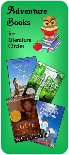 Visit this page on Teaching Resource to read recommendations for exciting survival and adventure books to use with Literature Circles!