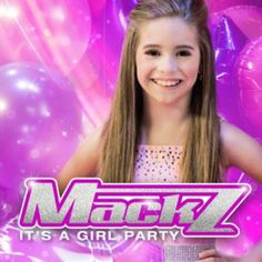 """MackZ's new single """"Its A Girl Party"""" is out on ITunes NOW!!! #MackZ #MackAttack #ItsAGirlParty #Mackenzie https://itunes.apple.com/us/album/its-a-girl-party-single/id853871174?ign-mpt=uo%3D4"""