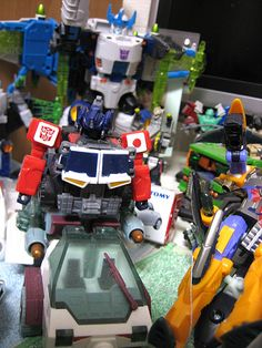 Grand Convoy(Energon/SuperLink) Transformers Energon, Nerf, Toys, Activity Toys, Games, Toy, Beanie Boos