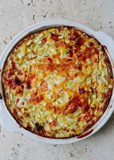 Recipe: Crustless Quiche with Summer Vegetables — Budget Recipes from The Kitchn | The Kitchn