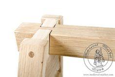 Tripod under table. Medieval Market, Tripod Under Table
