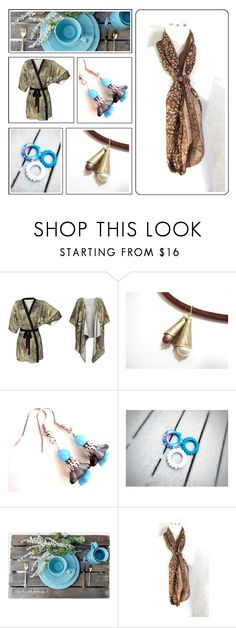 """""""Summer Perfection"""" by fibernique ❤ liked on Polyvore featuring Rustico and etsy"""