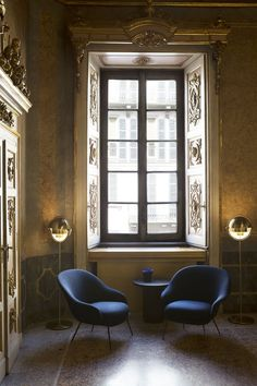 At Fondazione Serbelloni Gubi Presented The New Bat Lounge Chair By Gamfratesi Displaying Functionalism