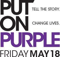 May is Lupus awareness month.  It's a disease many people are not aware of.  There are different types of Lupus.....some are treatable and can also be fatal.  Please get the word out to continue the research being done on lupus and hopefully someday find a cure! Go purple!  Thanks!