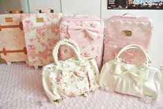 Liz lisa surprise tote bags and suitcases that are filled with Liz lIsa clothes and are available in japanese stores to buy on new years day!