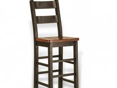 Rough Sawn Ladderback Stool | Munros Furniture