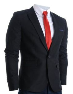 Shop a great sellection of Men's Sport Coats & Blazers at FLATSEVEN. Discover our range of blazers for Men. You will always find the latest trends and styles. Blazers For Men, Black Blazers, Mens Sport Coat, Professional Wear, Latest Tops, Sports Jacket, Slim Man, Jacket Style, Blazer Jacket