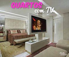 Decoração de Quartos de Casal com TV!