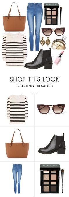 """Casual Friday"" by tiah0212 ❤ liked on Polyvore featuring Closed, Thierry Lasry, Tory Burch, Chanel and Bobbi Brown Cosmetics"