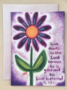 Give Thanks Card