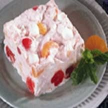 Frozen Fruit Salad 6 ounces cream cheese softened 1 cup mayo 1 cup heavy cream whipped 1/2 cup maraschino cherries halved 1 can fruit cocktail drained 1/2 cup sugar 2 cups mini marshmallows In a mixing bowl cream together sugar, mayo and cream cheese until fluffy. Fold in fruit cocktail. marshmallows and cherries. Add whipped …