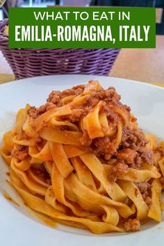 From pasta and balsamic vinegar to cured meats and cheese, food from Emilia-Romagna, Italy, is some of the best in the world.
