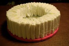 Diaper Cake DIY | littlemisstomato on Xanga