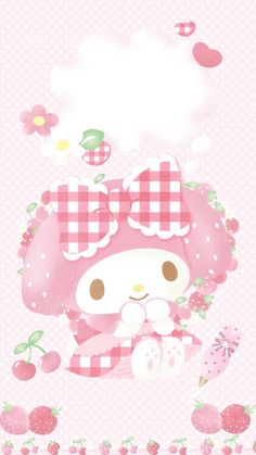 34 Best Ideas Wallpaper Cute Iphone Kawaii My Melody My Melody Wallpaper, Sanrio Wallpaper, Hello Kitty Wallpaper, Kawaii Wallpaper, Pink Wallpaper, Iphone Wallpaper, Rainbow Wallpaper, Tres Belle Photo, Hello Kitty My Melody