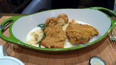 The Buttermilk Fried Chicken at Southern Art & Bourbon at the Intercontinental Hotel (Buckhead-Atlanta)