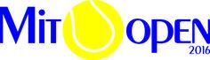 """Logo do Campeonato de Tênis """"Mito Open 2016"""""""