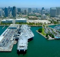 USS Midway Museum is a real naval aircraft carrier that served in the United States Navy for 47 years.