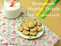 Uh huh. Go ahead and try to pass up these homemade healthy trefoils. Believe me, I love the Girl Scouts! I'm not trying to steal their thunder. And if I didn't love the Girl Scouts, wou…