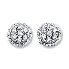 Diamond Earrings from Kay Jeweler's