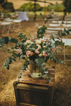 Rustic Crate & Blush...