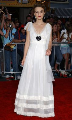 Keira Knightley Evening Dress - Keira Knightley Looks - StyleBistro