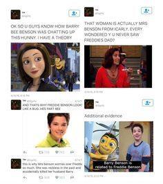 Barry bee benson, freddie benson, icarly, the bee movie, theory Dankest Memes, Funny Memes, Hilarious, Jokes, Bee Movie Memes, Tumblr, Out Of Touch, Icarly, Swagg