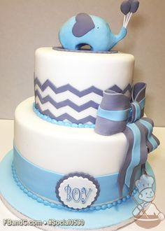 b59496be843d Images about baby shower cakes on pinterest baby jpg 236x330 Fondant  chevron baby shower cake