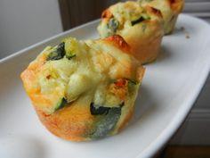 Muffins courgettes/chèvre/chorizo - C secrets gourmands!! Blog de cusine, recettes faciles, à préparer à l'avance, ...