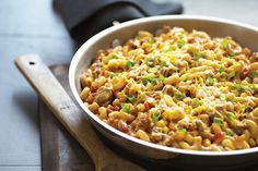 I have been making this for years. Samantha calls it slop One-Pot Salsa Beef Skillet Recipe