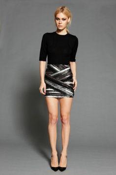 Rebecca Vallance Russian Nights bandage mini skirt #randompinsofkindness #thegrandsocial
