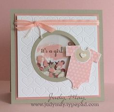 "Résultat de recherche d'images pour ""stampin up something for baby card ideas"""