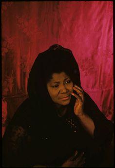 Mahalia Jackson, 1962 (Carl Van Vechten)
