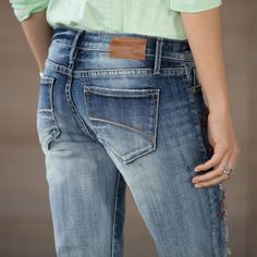 KELLY STRAWBERRY BLOSSOM JEANS: View 5