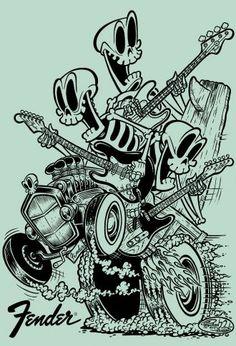 Fender+Skeletons+surf+green+%28sample%29.jpg 330×485 pixels