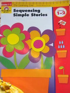Sequencing Simple Stories By Evan-Moor