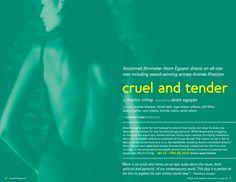Canadian Stage 11.12 Season Brochure, Cruel and Tender.
