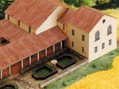 Order Cut-out-sheet roman estate – Villa rustica
