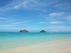 Lanikai Beach - Oahu, Hawaii