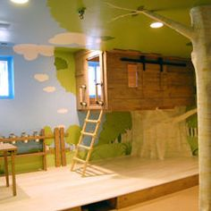 So much fun! Transforms a basement into another world.