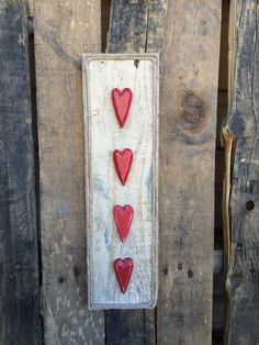 Pallet Heart Sign by CactusCreationsAZ on Etsy
