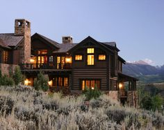 Nothing elaborate............just a simple cabin on the mountain. :)