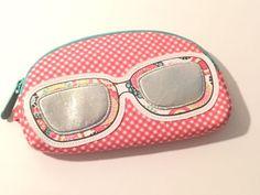 Thirty One Cosmetics Eyeglasses Sunglass Case Coin Purse Jewelry Organizer Bag #thirtyone