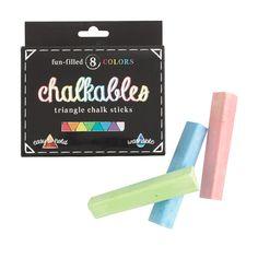 Kids' International Arrivals™ chalkables triangle chalk sticks : fun finds | J.Crew