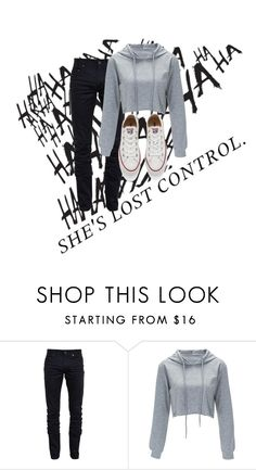 """~Lost Control~"" by stevtasha-romanodgers ❤ liked on Polyvore featuring ...Lost, Yves Saint Laurent and Converse"